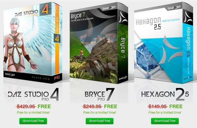 promozione software 3d da scaricare gratis