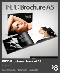 brochure indesign